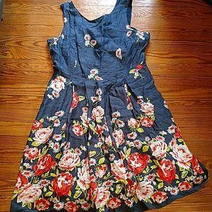 Land's End summer dress